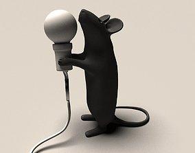 3D print model Mouse lamp
