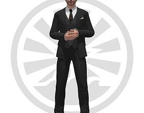Keanu Reeves 3D model