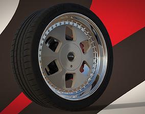 3D model MAE and Tire Michelin Pilot Super Sport