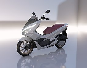 3D asset VR / AR ready Honda PCX 150