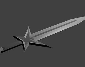 Epic Sword of Zekarbians 3D asset