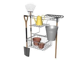 Gardeners Tool Set 3D