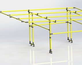 ESD PIPE TEND FRAME 3D model