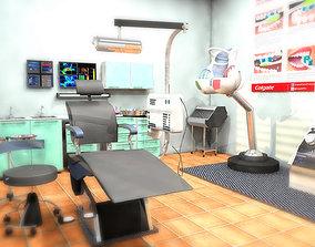 3D model DENTAL HEALTH ROOM