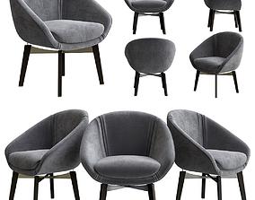 3D model minotti Minotti asy chair
