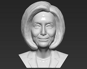 Nancy Pelosi bust 3D printing ready stl obj formats