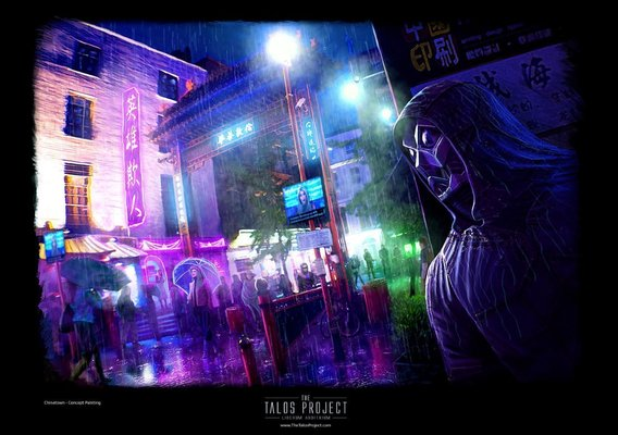 The Talos Project: A Cyberpunk Web Comic - Concept Art