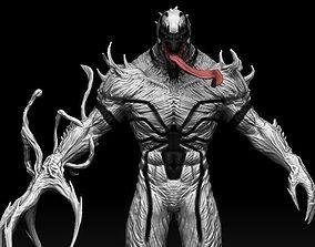 3D model Anti Venom maquette