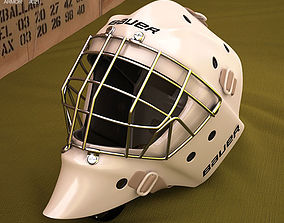 3D Hockey Goal Mask