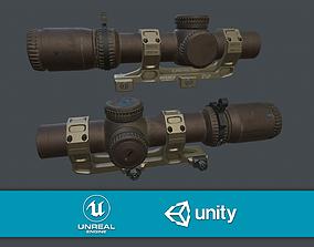 3D model Vortex Razor HD Gen III 1-10 LPVO Low Poly