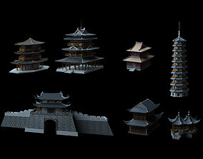 3D model travel Ancient Chinese Architecture