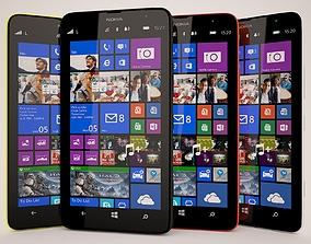 Nokia Lumia 1320 All Colors 3D model