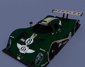 Bentley Sport Car 3D model automobile