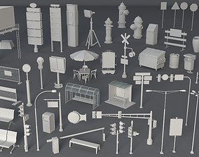 Street Collection 2 - 60 pieces 3D