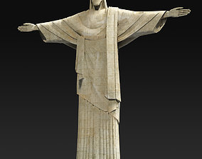 3D model Christ statue