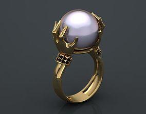 3D printable model pearl ring matrix