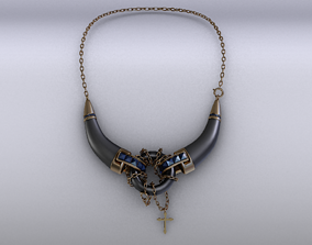 3D asset game-ready Necklace
