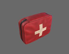 First Aid Kit 3D asset VR / AR ready PBR