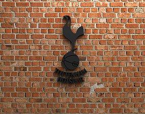 3D print model Tottenham Hotspur FC Logo