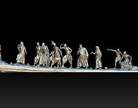 mahatma Gandhi Salt March 3DP