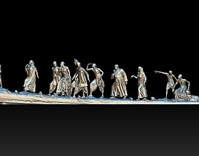 mahatma Gandhi Salt March 3DP