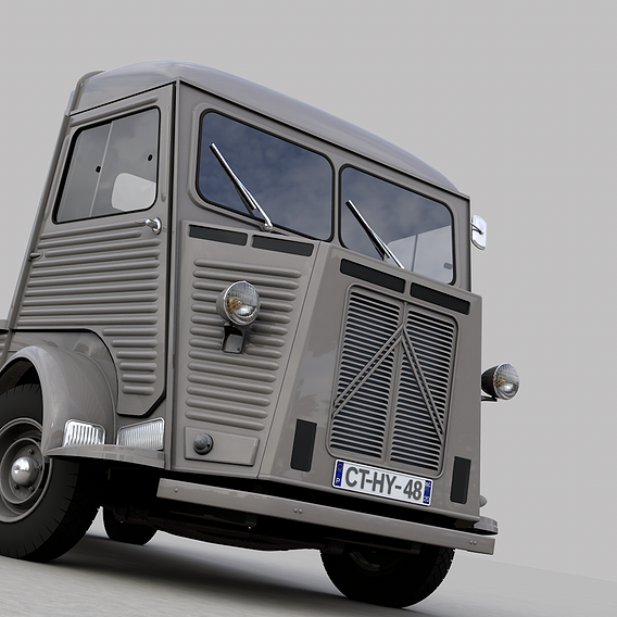 CITROEN HY PICKUP 1948