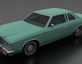 LTD 2dr 1975 3D model