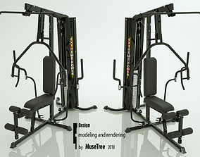 3D Gym Machine 05