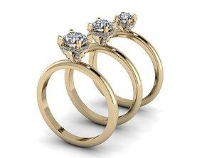 Jewelry Rings NINE RINGS 005 3D print model