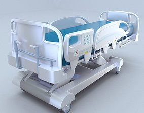 adjustable InTouch Critical bed Stryker 3d model vray