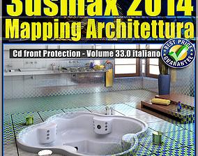 3ds max 2014 Mapping Architettura vol 33 Italiano cd 1