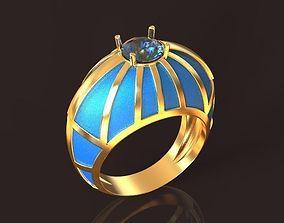 3D printable model Sky Sphere Golden Ring