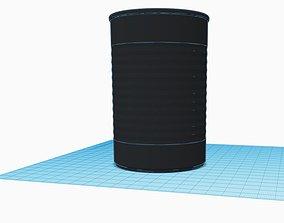 3D print model Metal Cans