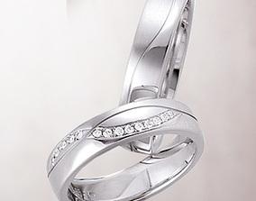 3D print model Wedding ring 029