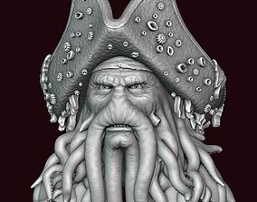 3D printable model Davy Jones Head