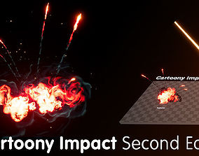 3D asset Cartoony Impact Second Edition - Unreal Engine 4