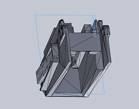 3D printable model Airsoft M4 Mag Adapter for G36 2