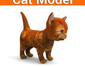game-ready 3D Pet Cat Model