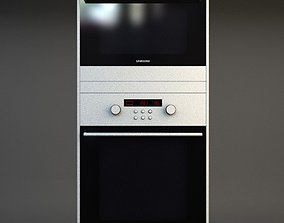 Double Wall Oven 3 3D