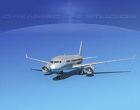 Boeing 787-8 Bare Metal 3D model