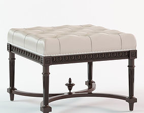 Eichholtz - Footstool Parisienne 3D model