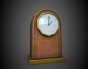 Clock gold 3D model