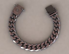 3D print model chain bracelets 012