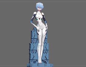 3D print model REI AYANAMI PLUG SUIT EVANGELION ANIME 3