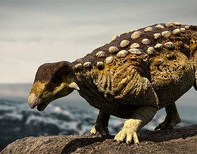 rigged EuropeltaSaurus 3D Rigged model