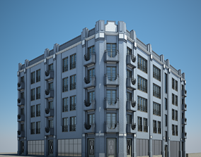 Apartment Building 03 3D model