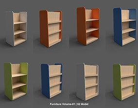 3D model PBR furniture Volume-01