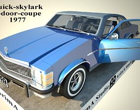 buickskylark 3D model buick-skylark-2-door-coupe-1977
