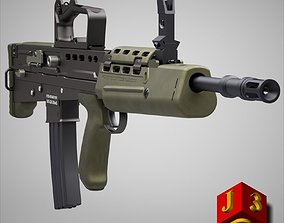 3D model L85A2 assault rifle