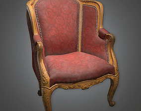 Chair 04 Antiques - ATQ - PBR Game Ready 3D asset